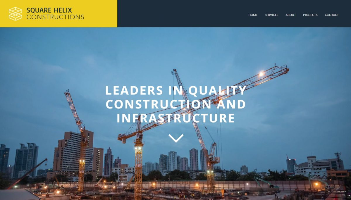 website-design-square-helix-construction